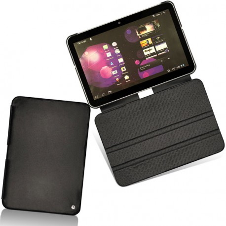 Samsung gt p7300 galaxy tab 8 9 leather case for Housse galaxy tab e